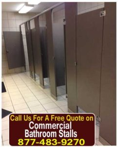 DIY Kits Commercial Bathroom Stalls For Sale, Design & Installation Services
