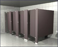 Floor Braced Restroom Partitions For Sale At Discount Prices
