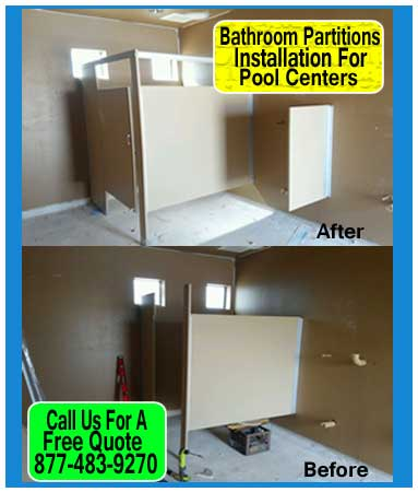 Case Study For Restroom Partitions Installation For Pulte home buidders
