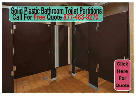 Solid Plastic Bathroom Toilet Partitions For Sale Cheap Discounted Pricing