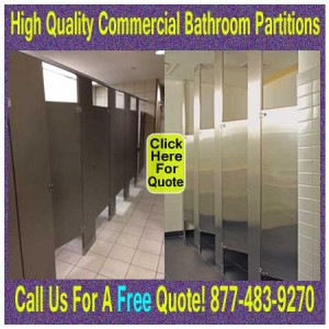 High Quality Commercial Bathroom Partitions