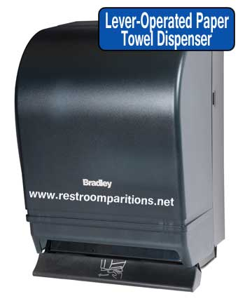 Lever Operated Paper Towel Dispenser