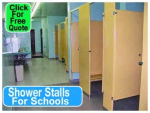 Discount Commercial Shower Stalls For Schools, Locker Room, Swimming Pool & Recreational Facilities For Sale - Save Money Buy Manufacturer Direct And Save Money Today