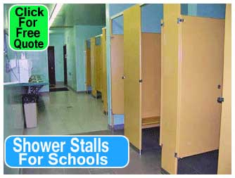 Shower Stalls For Schools Installed Designed & Repaired
