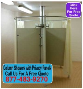 Do it yourself Column Showers With Privacy Panels Kit For Sale Manufacturer Direct Pricing