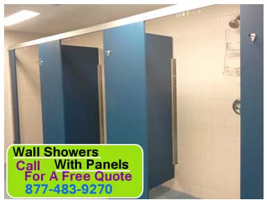 Wall Showers With Panels For Sale, Installation & Repair Services