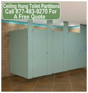 Ceiling Hung Restroom Partitions For Sale Cheap Discount Prices In Austin & San Antonio Texas
