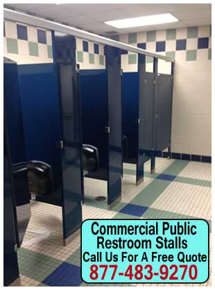 Quality Commercial Public Restroom Stalls For Sale - Public bathroom partitions