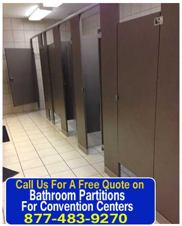 Bathroom Partitions For Convention Centers Sales, Installation & Repair