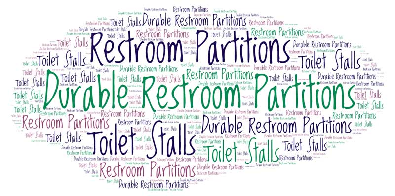 Durable Restroom Area Partitions Discount Sales