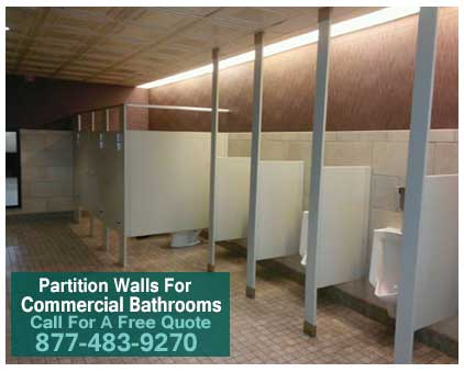 Partition Walls For Commercial Bathrooms For Sale. Installation, Repair, Design Available