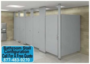 Bathroom Stall Configuration For Sale In Austin, Houston, Corpus Christi, Midland & Fort Worth Texas