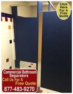 Commercial Bathroom Separators For Sale In Texas