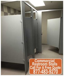 Commercial Restroom Stalls DIY Kit On Sale Now
