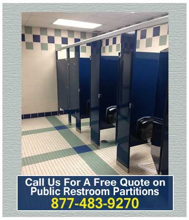 Public Restroom Partitions For Sale Installation And Repair Services Available