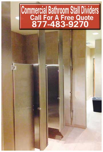 Bathroom Stall Dividers For Sale Cheap. Installation Services Available