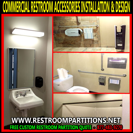 Visionmasters specialty commercial equipment company for Commercial bathroom accessories