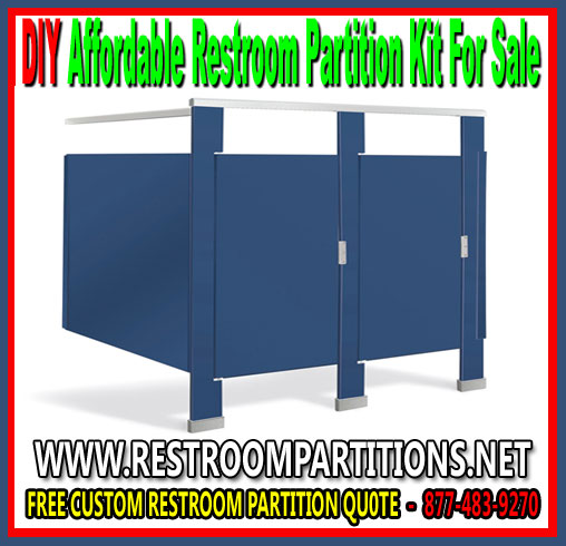 DIY Affordable Bathroom Partition Kit Easy Installation Magnificent Bathroom Partition