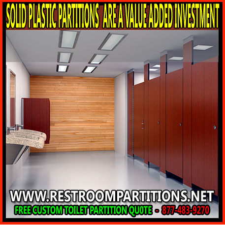 Solid Plastic Restroom Partitions Are A ValueAdded Investment Classy Commercial Bathroom Partition Walls Painting
