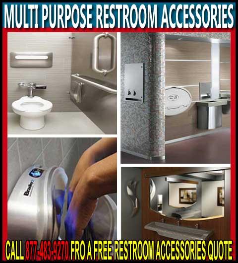 Discount Multi-Purpose Restroom Accessories For Sale Cheap Wholesale Prices