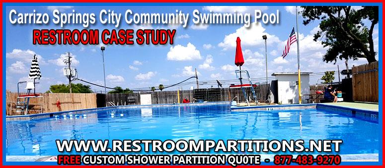 Swimming Pool Urinal : Pool restroom shower dressing room stall installation