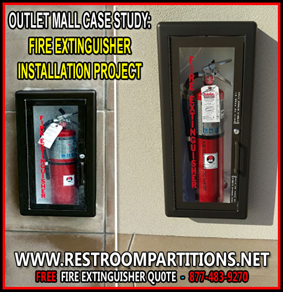 Do It Yourself DIY Certified Fire Extinguisher Kit For Sale
