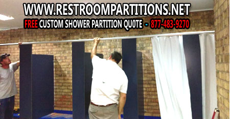 DIY Commercial Shower & Restroom Stall Sales And Easy Installation Instructions