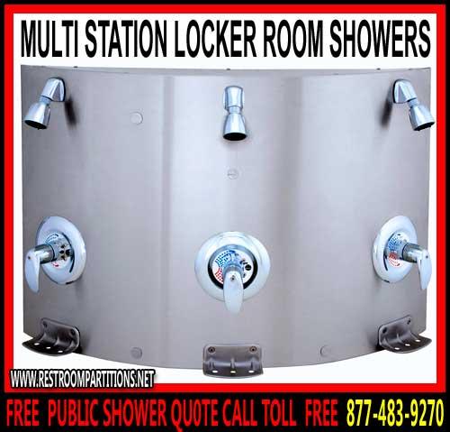 Locker Room Shower Partitions