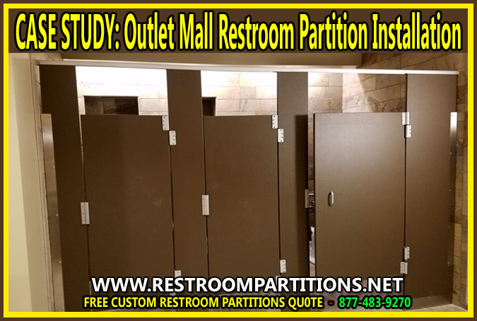 Outlet Mall Restroom Partitions Professional Installer In Houston, Dallas, San Antonio, Houston, & Austin, Texas