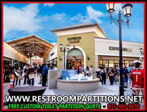 Shopping Mall Restroom Patitions For Sale, Installation & Design In Corpus Christi, San Antonio, Dallas, Houston & Austin Texas