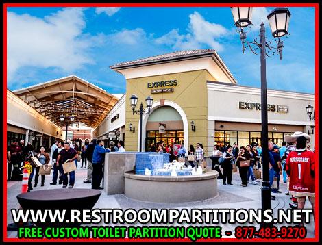 Shopping Mall Restroom Patitions For Sale, Installation & Design In Corpus Christi, San Antonio, Dallas, Houston & Austin Texas