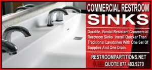 Discount Industrial Restroom Sinks For Sale - Easy Install And Made 100% In American By Americans