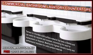 Restroom Sinks Counters Archives Restroom Partitions - Commercial bathroom sinks and counters