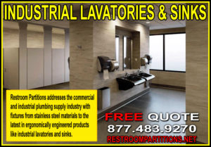 Industrial Restroom Lavatories And Sinks