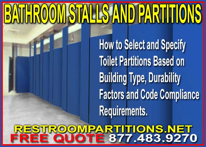Discount Commercial Bathroom Stalls and Partitions For Sale Factory Direct Means Lowest Price Guaranteed