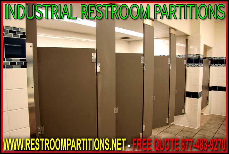 Industrial Restroom Partitions - Solid Plastic Or Solid ...