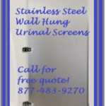 Stainless Steel Urinal Screens Wholesale Direct