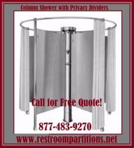 Stainless Steel Column Shower